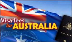 Australia Visa Application fee
