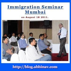 Immigration Seminar in Mumbai