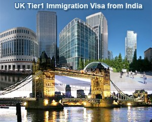 UK Tier1 Immigration Visa from India