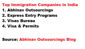 Top Immigration Companies in India