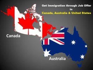 immigration through job offer