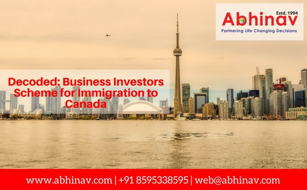 Business Investors Immigration Canada