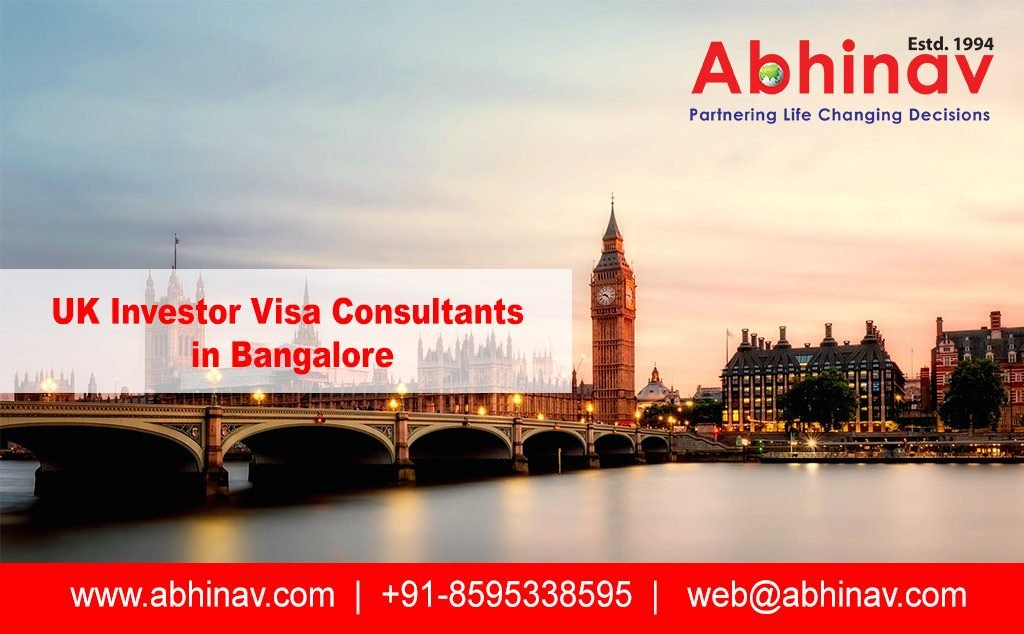 UK Investor Visa Consultants in Bangalore