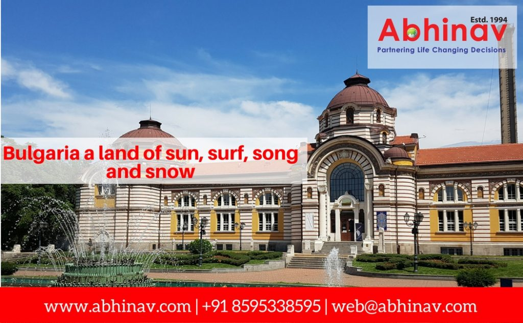 Bulgaria…a land of sun, surf, song and snow