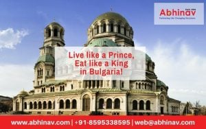 Live like a prince; eat like a king in Bulgaria!