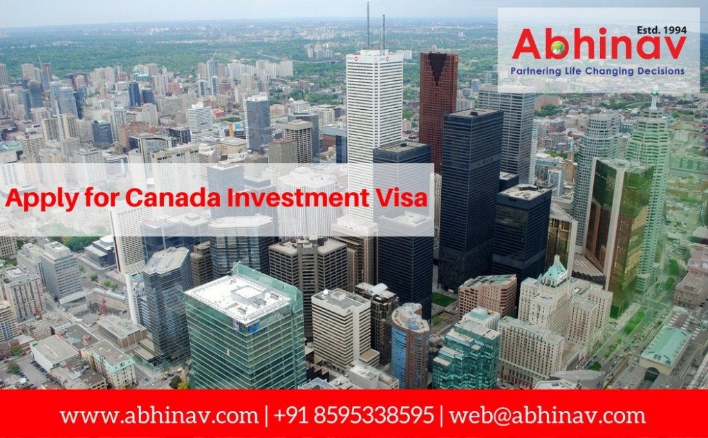 Apply for Canada Investment Visa