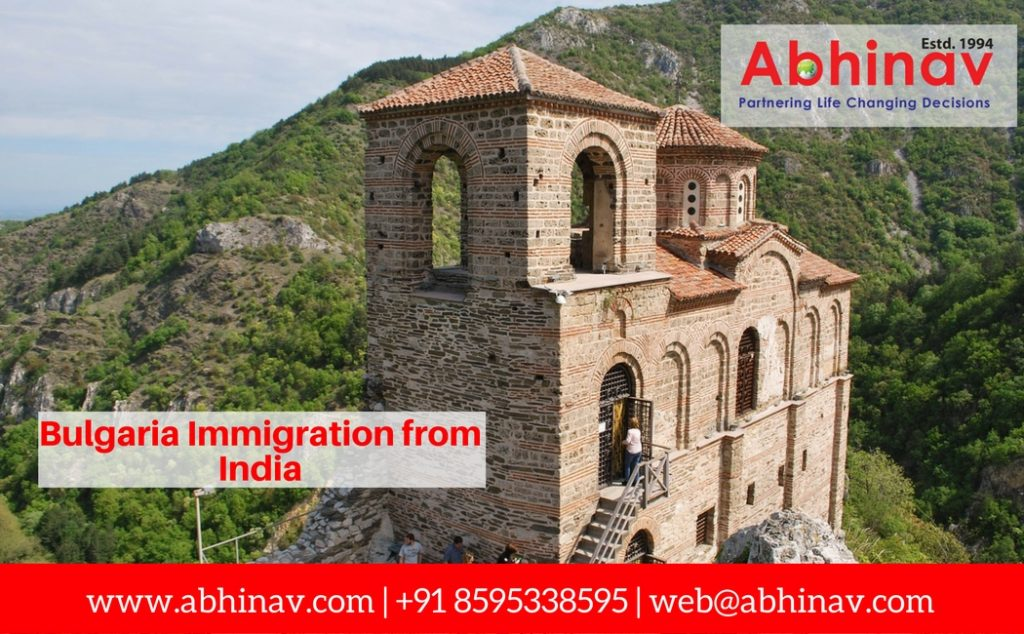 Bulgaria immigration from India