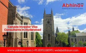 Canada Investor Visa Consultants In Hyderabad