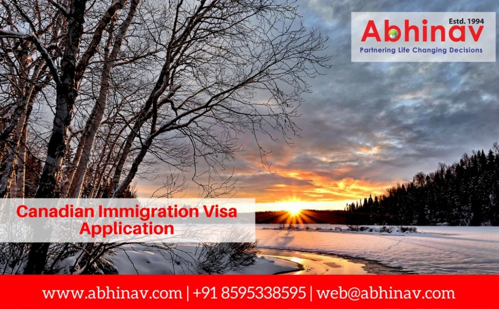 Canadian Immigration Visa Application