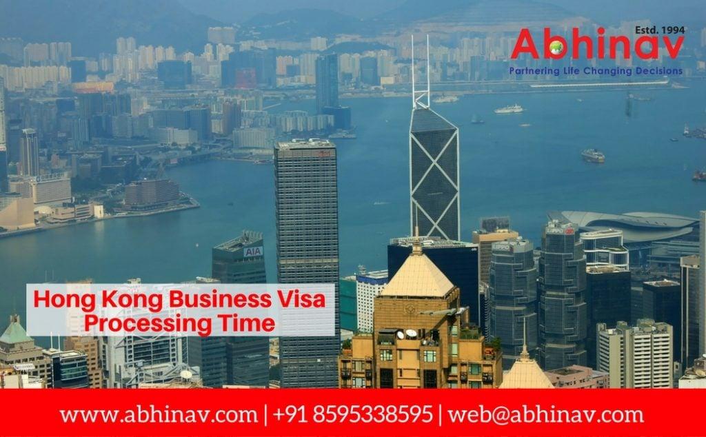 Hong Kong Business Visa