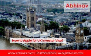 Apply for UK Investor Visa