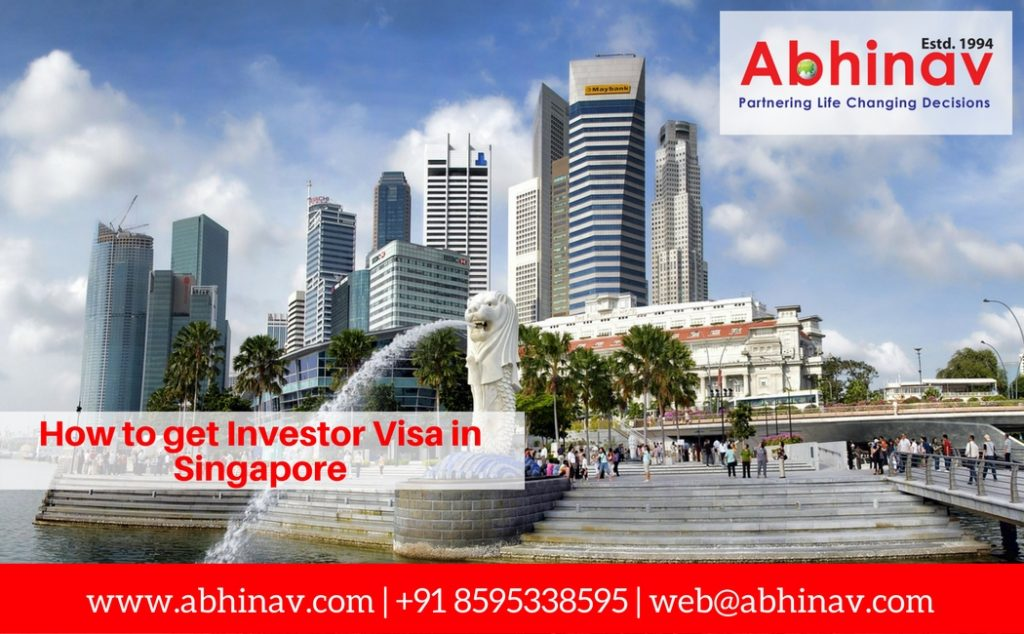 How to get Investor Visa in Singapore?