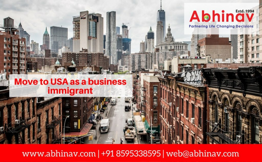 Move to USA as a Business Immigrant