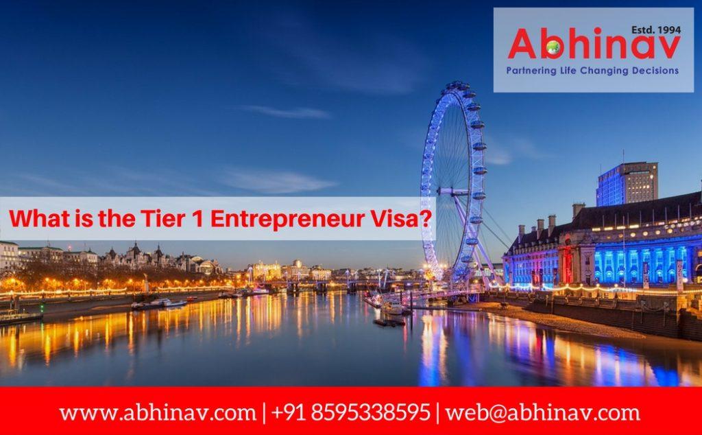 Tier 1 Entrepreneur Visa