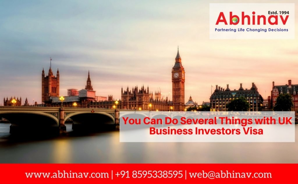 UK Business Investors Visa