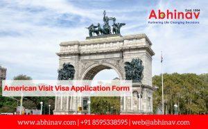 American Visit Visa Application Form