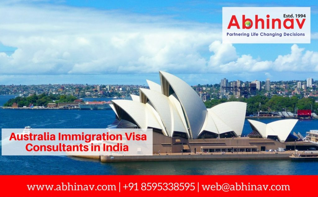 Australia Immigration Visa Consultants in India
