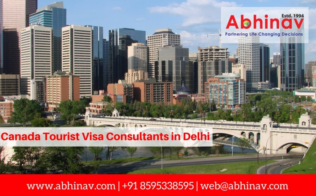 Canada Tourist Visa Consultants in Delhi
