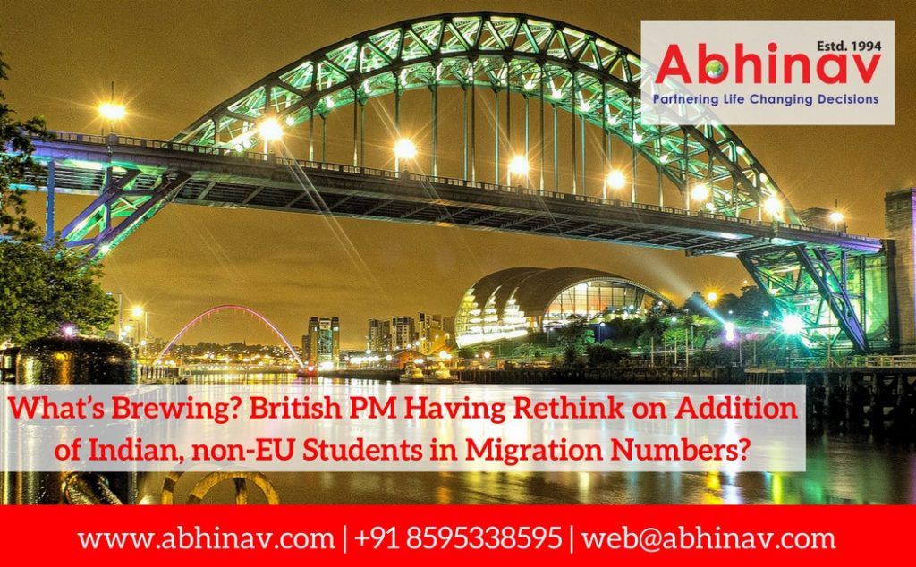 What's Brewing_ British PM Having Rethink on Addition of Indian, non-EU Students in Migration Numbers_