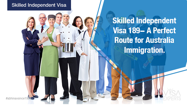 Skilled Independent Visa 189
