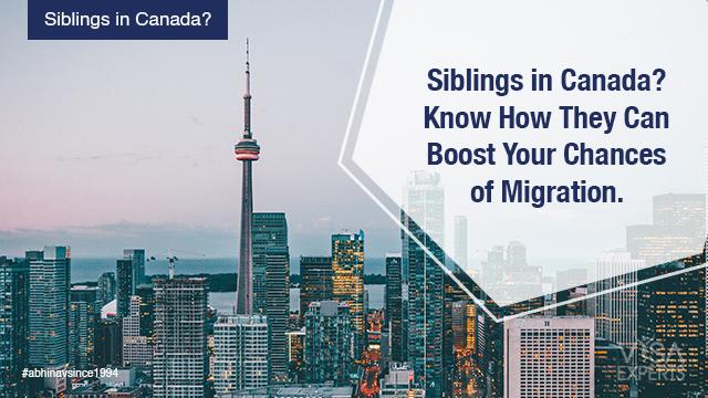 Siblings in Canada
