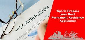 Tips to prepare your next PR visa aaplication