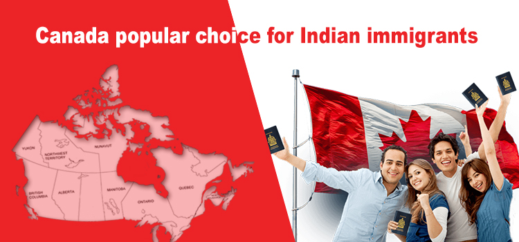 Canada popular choice for Indian immigrants