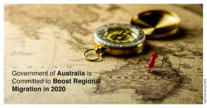Government Australia Committed to Boost Regional Migration 2020