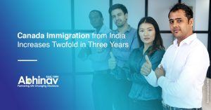 Canada Immigration from India